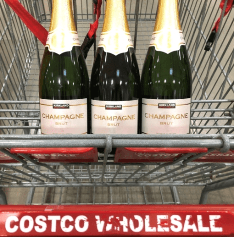 The Best Bubbly Wines At Costco for New Year's